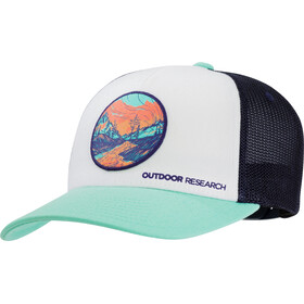Outdoor Research Alpenglow Casquette trucker, tahiti